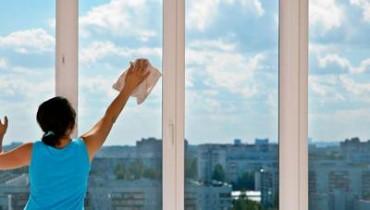 Jak myć okna i drzwi