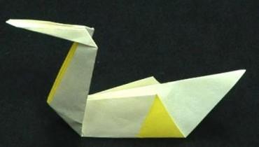 Jak zrobić łabędzia origami