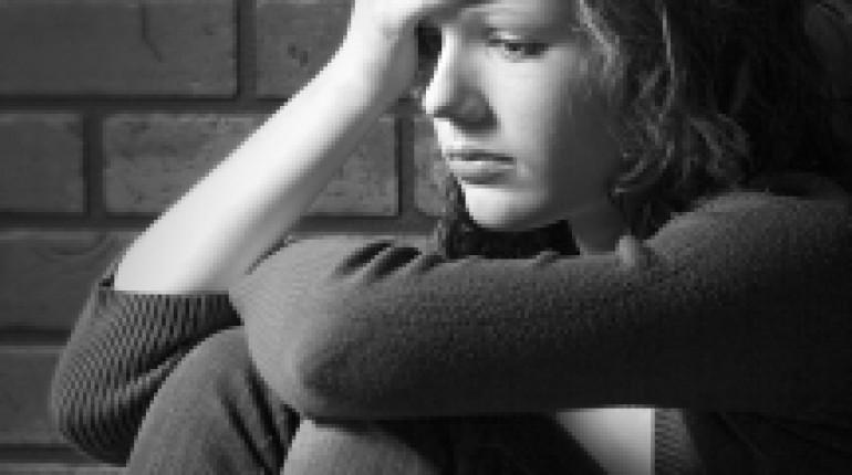 dziewczyna z depresją