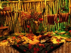 Jak przygotować wiejski stół na wesele?