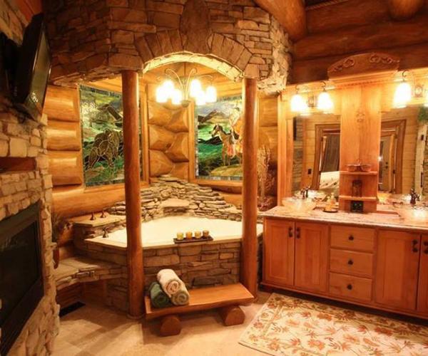 łazienka W Drewnie Mporadypl
