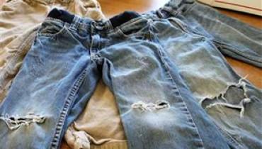Jak odnowić stare jeansy?
