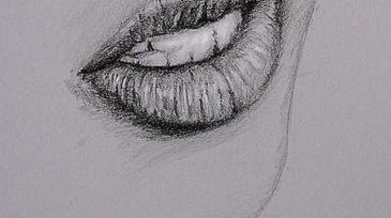Jak narysować usta