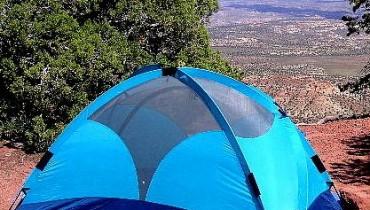 Jak okopać namiot