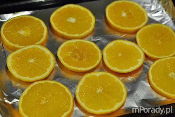 pomarańcze w plastrach
