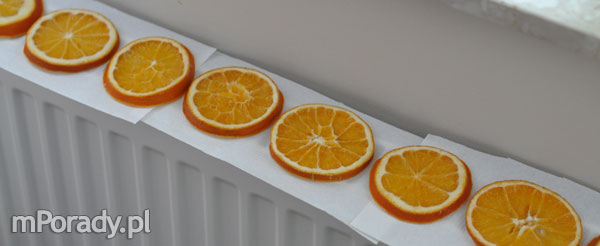 suszone pomarańcze