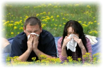 łagodzenie objawów alergii
